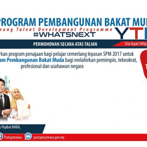 YOUNG TALENT DEVELOPMENT PROGRAMME (YTP)
